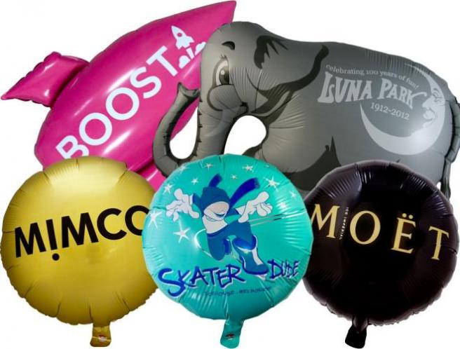 Custom Printed/Shaped Foil Balloons