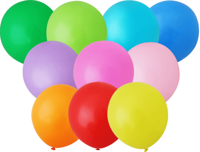 Unprinted Balloons