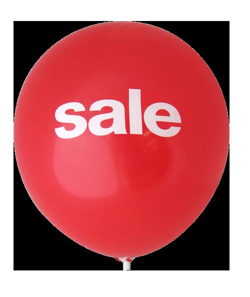 Sale Balloons (30cm, 2 Side Print, 40pk)