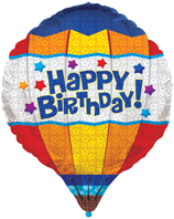 Happy Birthday Hot Air Balloon (71cm)