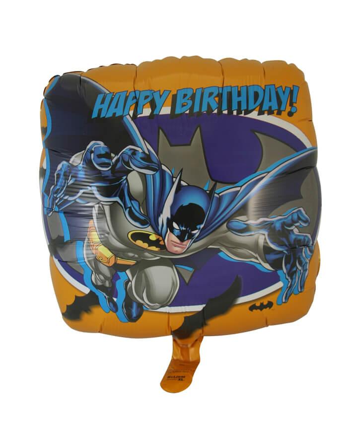 Batman Happy Birthday Foil Balloon (45cm, single pk)