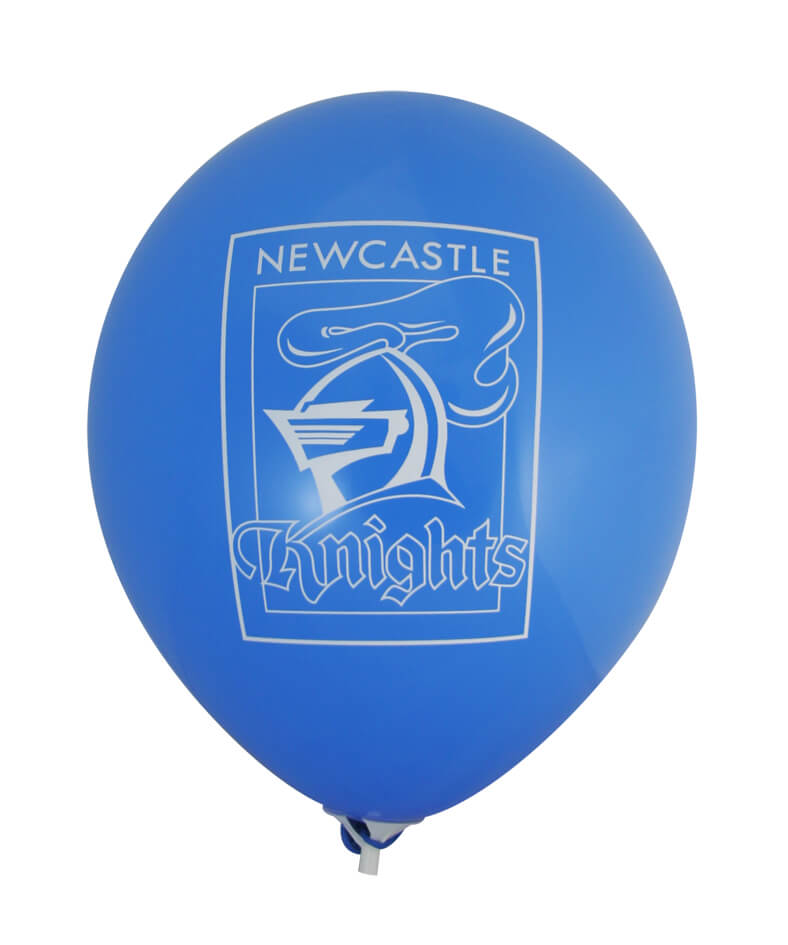 Pre-Printed Balloons - Knights Supporter Balloons (30cm, 25pk)