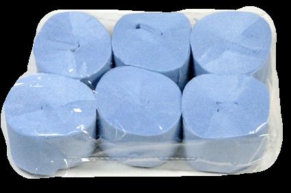 Crepe Streamer, 35mmx13m, Pale Blue, 6pk