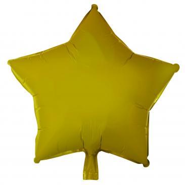 Star Shaped Gold Foil Balloon (45cm)