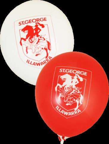 Pre-Printed Balloons - Dragons Supporter Balloons (30cm, 25pk)