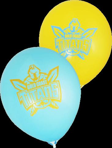 Pre-Printed Balloons - Titans Supporter Balloons (30cm, 25pk)
