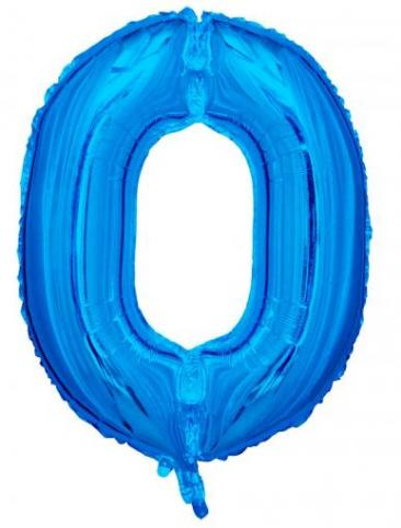Blue Number - 0 (86cm, single pk)