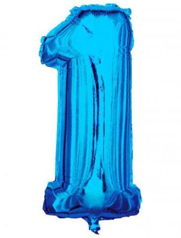Blue Number - 1 (86cm, single pk)