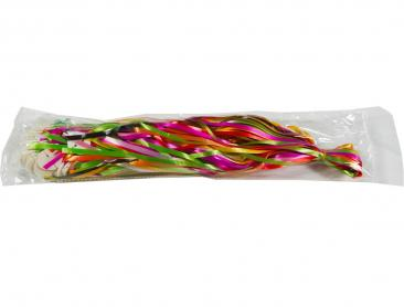 Balloon Ribbon and clip Assorted 50pk