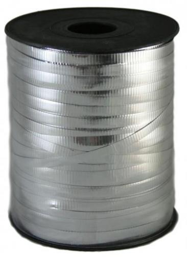 Curling Ribbon, 500yd Roll, Silver