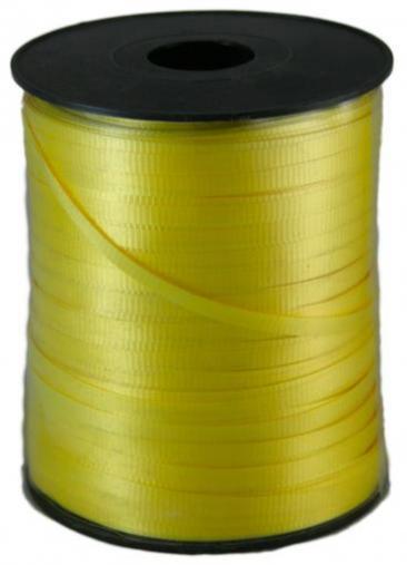 Curling Ribbon, 500yd Roll, Yellow