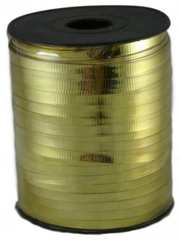 Curling Ribbon, 500yd Roll, Gold
