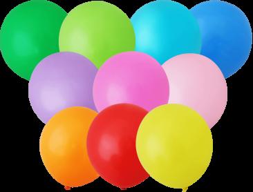 Unprinted Balloons - 30cm Standard (packs of 100)
