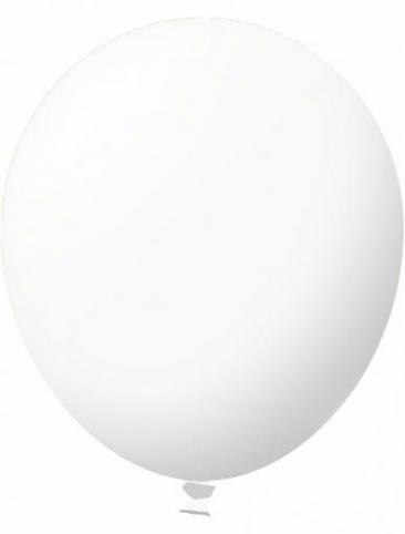 Unprinted Balloon -  Standard White (72cm, single pack)