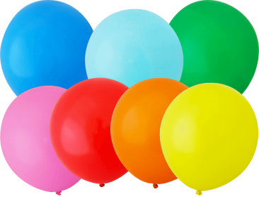 Unprinted Balloons - 40cm Standard (packs of 100)