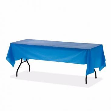Plastic Tablecloth, Blue