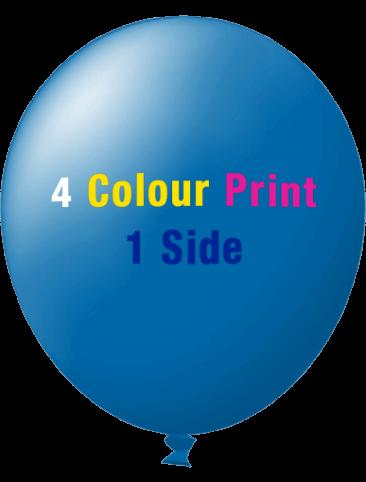 Custom Printed Balloons (30cm Standard, 4 Colour Print, 1 side)